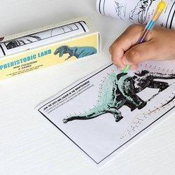Kolorowanka w rolce Dinozaury 3+ Rex London
