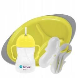 Zestaw do karmienia Lemon Sherbet B.Box