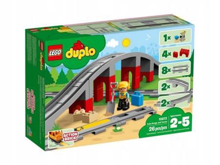 KLOCKI LEGO 10872 Duplo Tory kolejowe i wiadukt