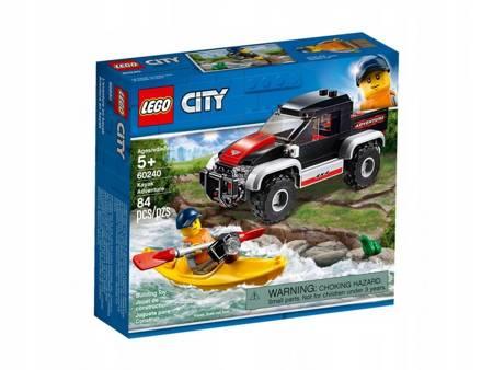 Klocki LEGO 60240 City Przygoda w kajaku