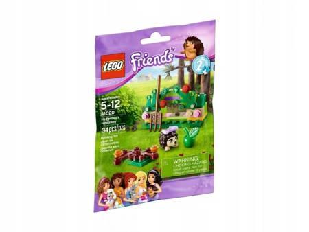 Klocki LEGO Friends Friends Kryjówka Jeża L-41020