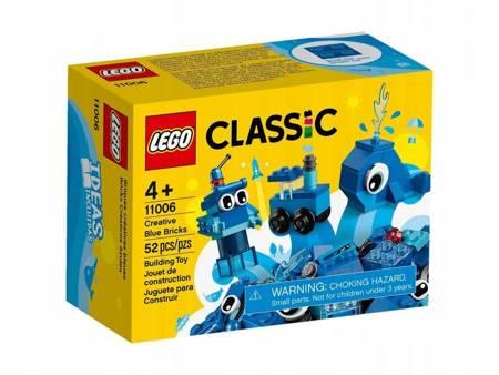 LEGO 11006 Classic Niebieskie klocki kreatywne