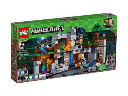 LEGO 21147 Minecraft Przygody na skale macierzyste