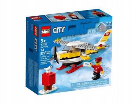 LEGO 60250 City Samolot pocztowy