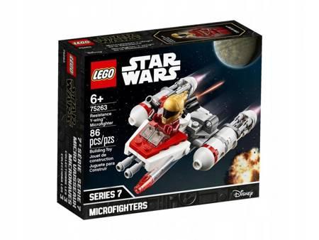 LEGO 75263 Mikromyśliwiec Y-Wing Ruchu Oporu Star