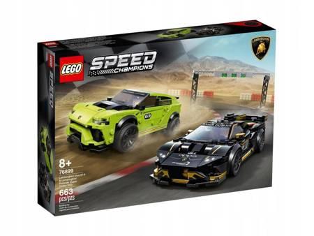 Lego Lamborghini Urus ST-X + Huracán EVO 76899