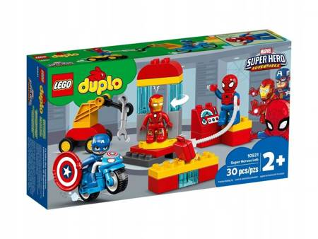 Lego duplo Laboratorium superbohaterów 10921
