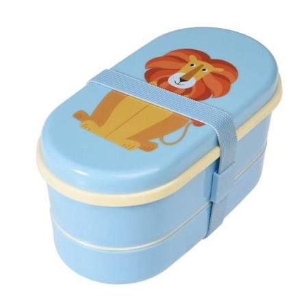 Lunchbox Bento Śniadaniówka Lew Charlie Rex London