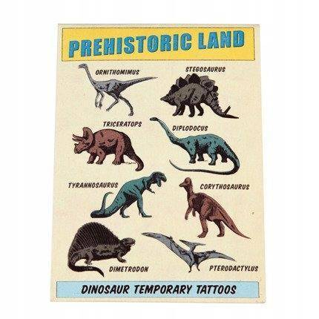 Tatuaże zmywalne dla dzieci Dinozaury Rex London