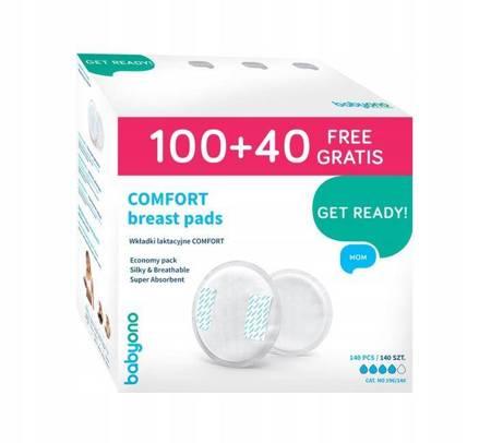 Wkładki laktacyjne Comfort 140szt. BabyOno
